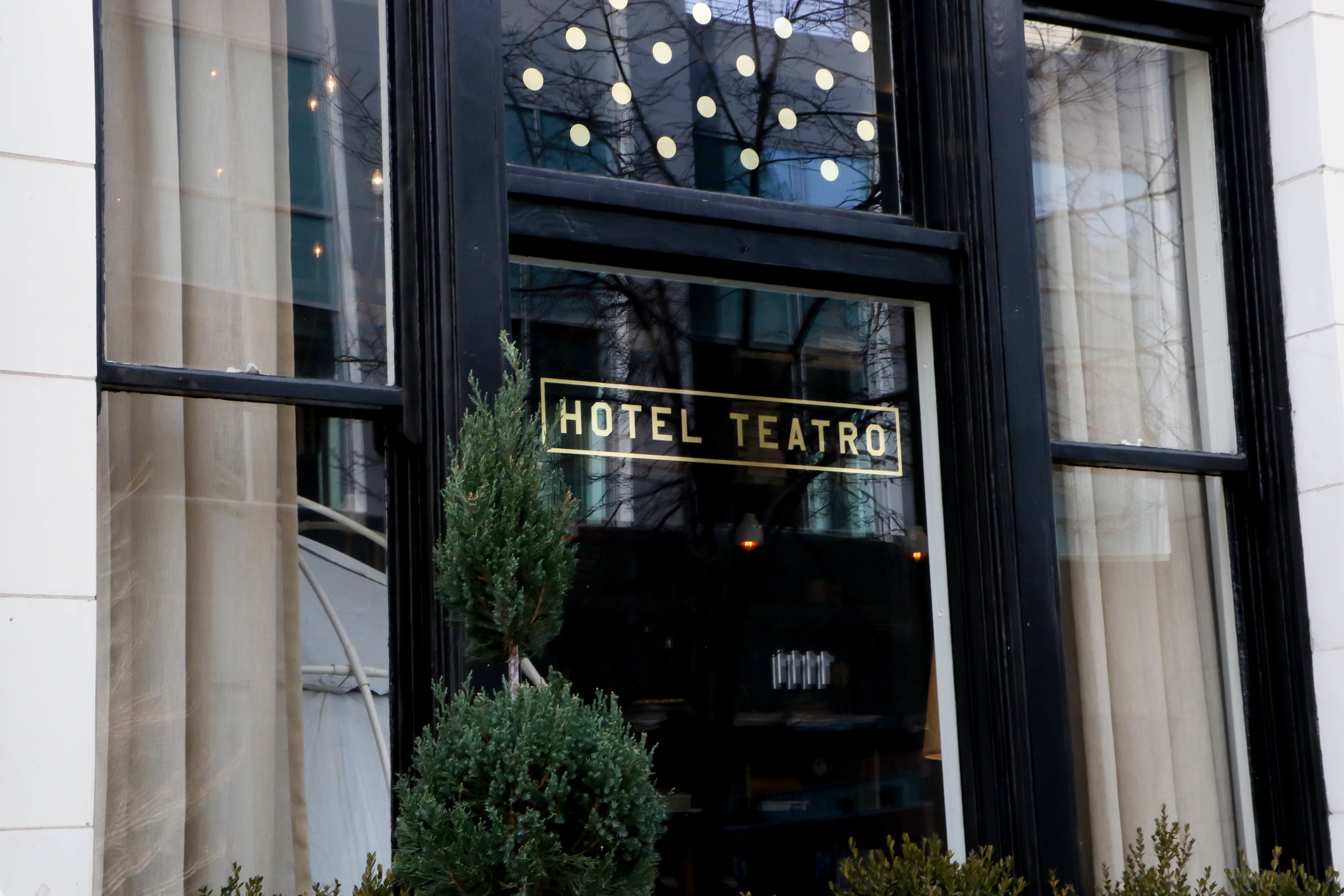 Hotel Teatro @14th Street LODO Denver