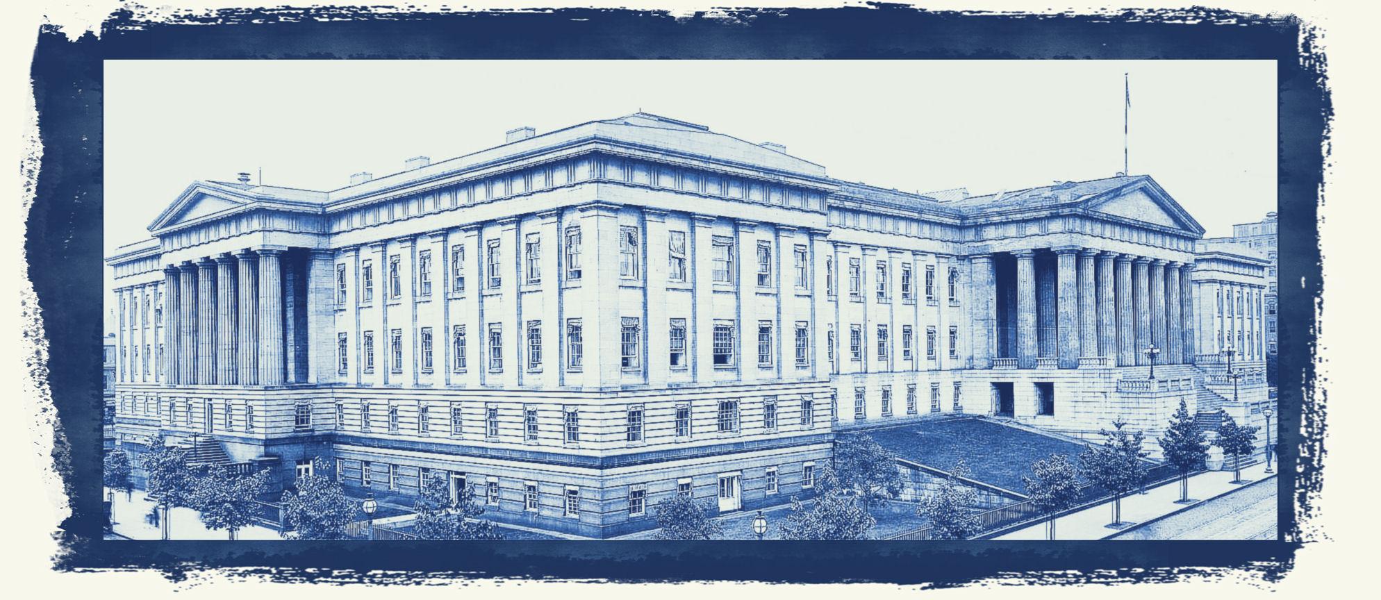 Original US Patent Office Bldg