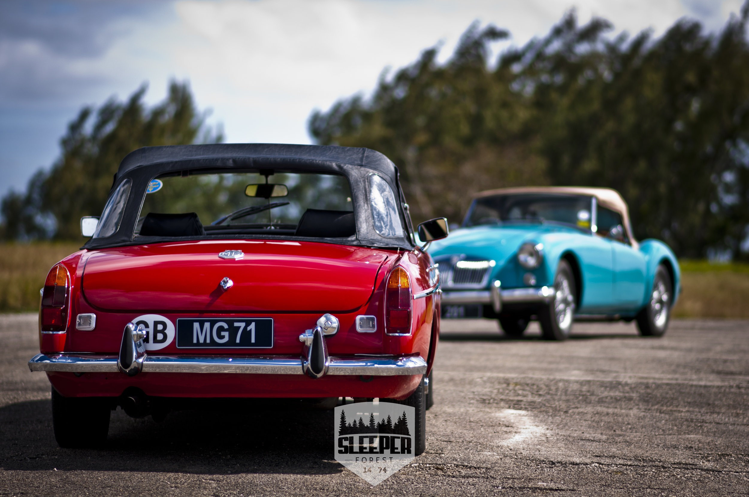 Their styling is actually quite reminiscent of 1960s American muscle cars vs the MGA.