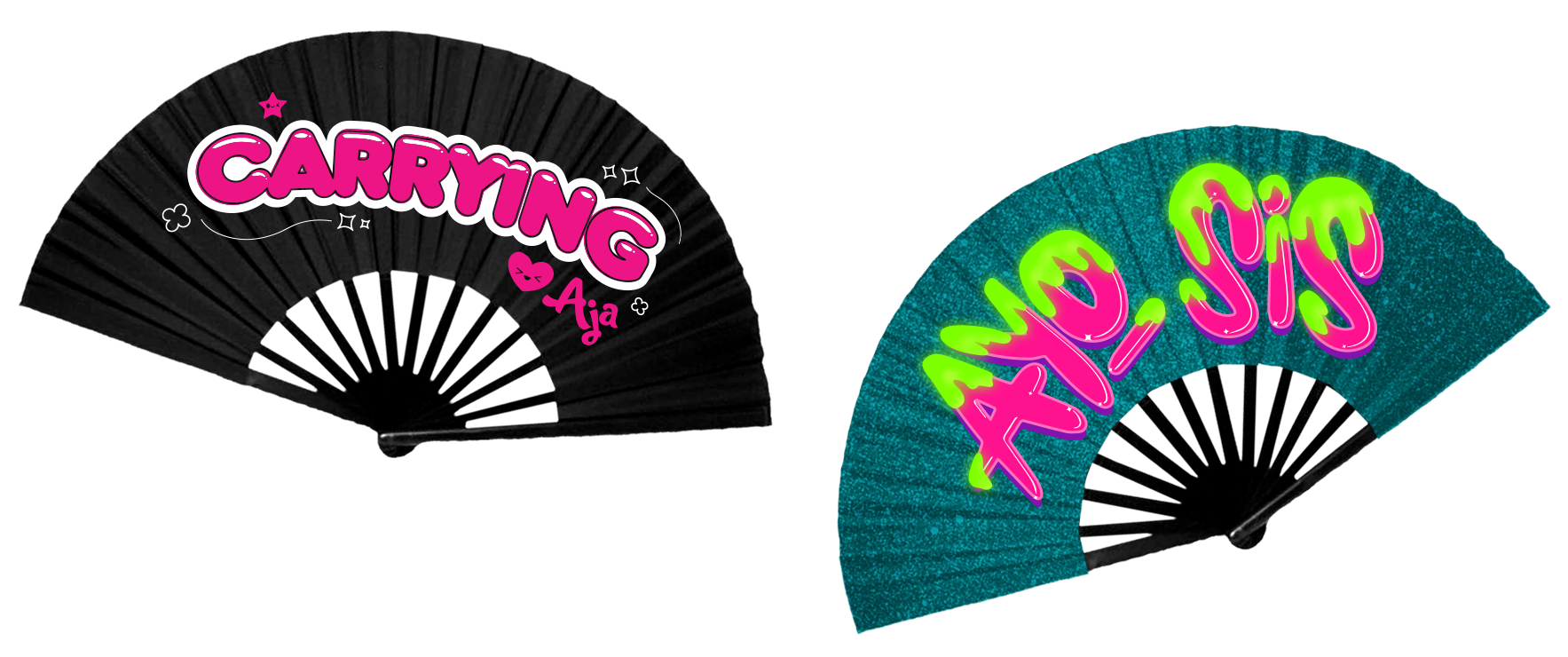Aja  | Silk fan designs  sold out