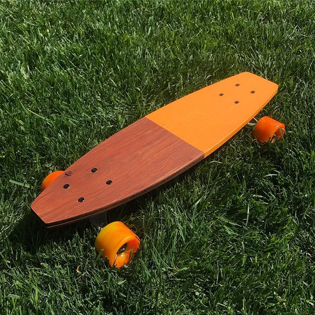 Made this cruiser from 100% recycled flooring #PanelSkateboards 🧡🏄‍♂️ . . . . . . . . . #customskateboard #skateboard #skatergirl #skate #diyskate #skateboardp #skateboardingisfun #skateboards #skaters #skateshop #skateboarders
