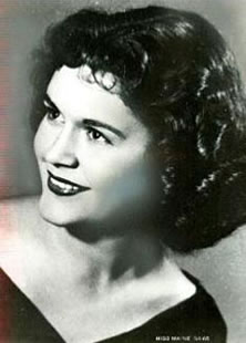 Miss Maine 1954 Mary Ellen St. John