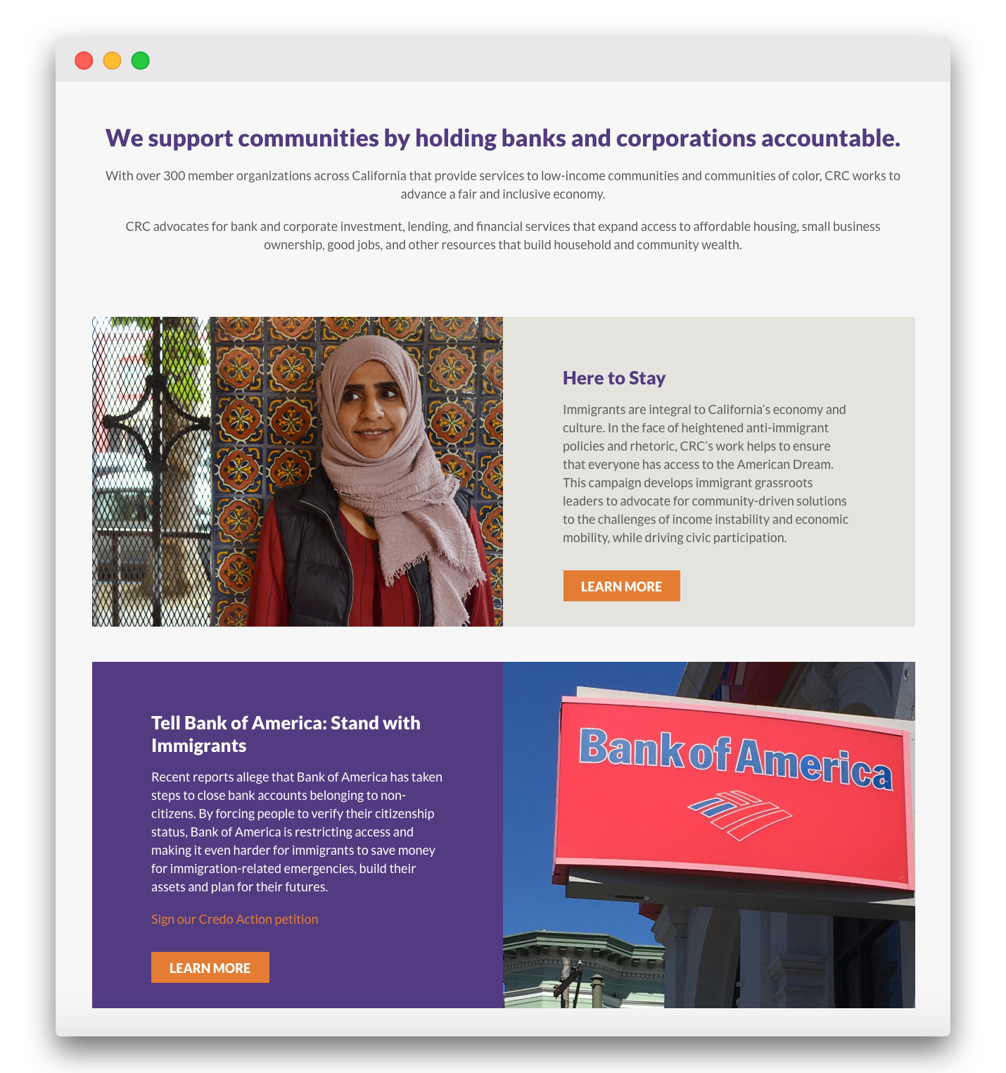 California Resource Coalition Website Design and Strategy