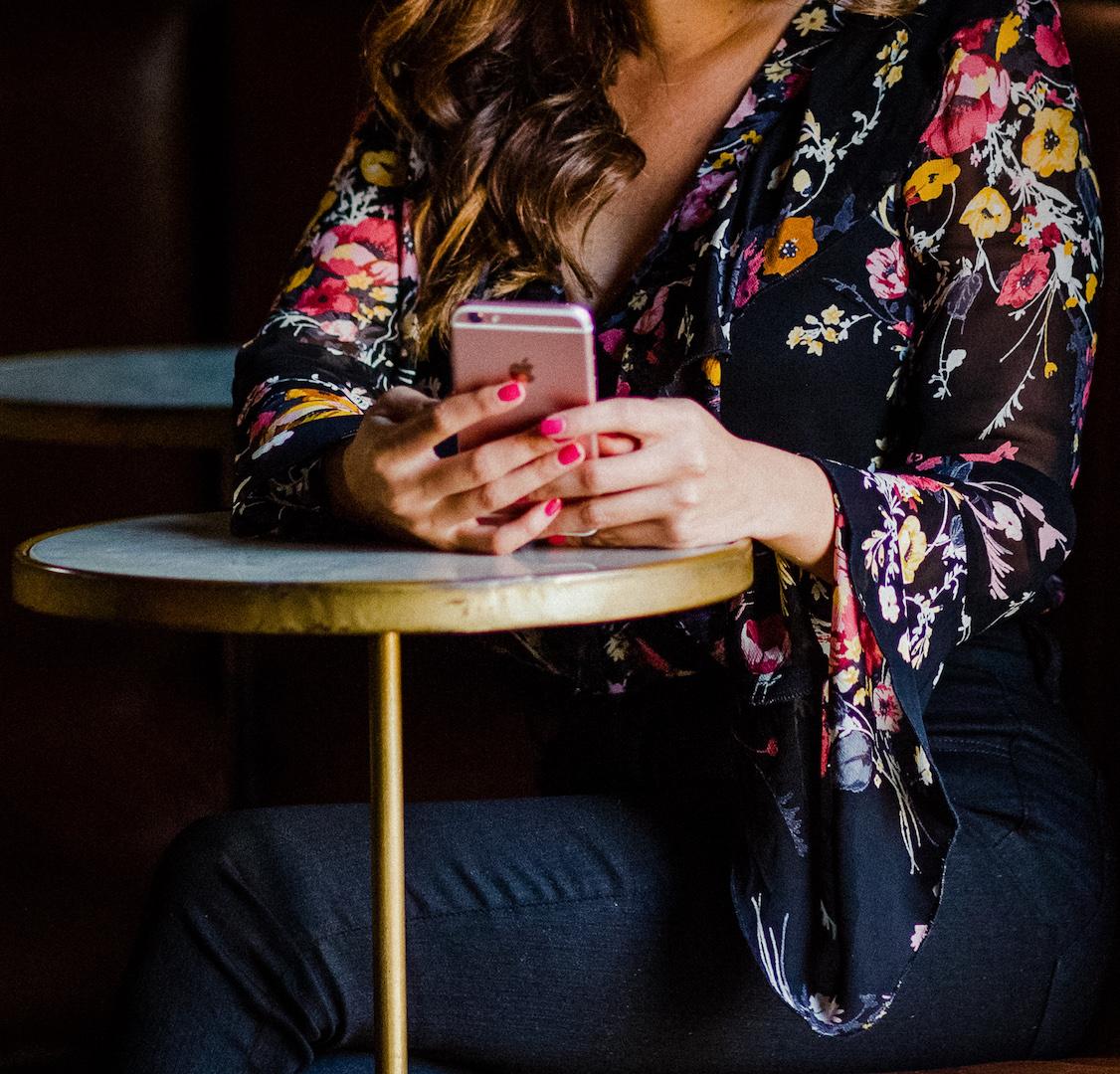 Social Media Cell Phone