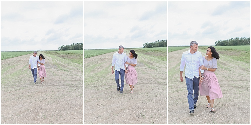 I chose a beautiful field that gave Ben and Nicole a perfect space to be themselves and demonstrate who they were as a couple. As we walked, they shared with me how they met.