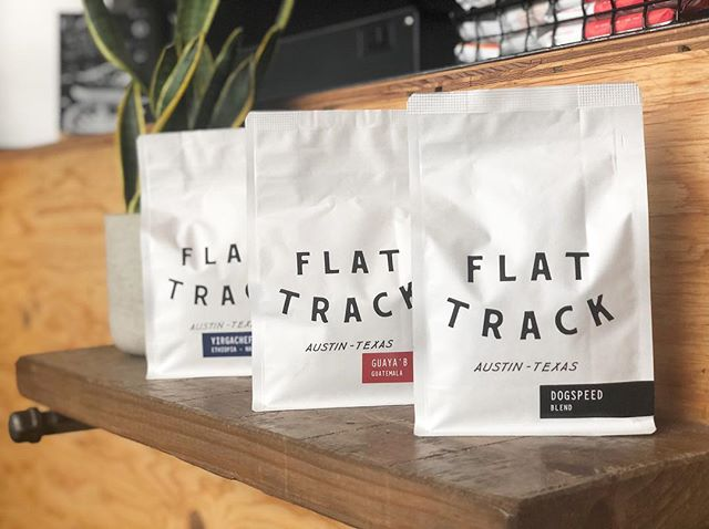 strong lineup from @flattrackcoffee  Single Origins: Guaya'B - Guatemala - Washed Process Yirgacheffe Dumerso - Ethiopia - Natural Process  Blends: Dogspeed  Sidepipe