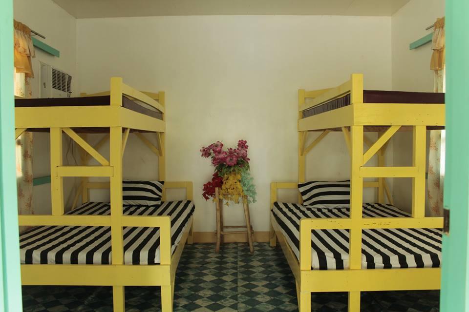 Fajardo Beach Resort - Write herBrgy. Pag-Asa, Bagac, Bataan | 091755162741. El-Presidente x 2roomsDorm-Type (double deck beds) = 7,000pesosMax. 20 pax (w/ AC, TV and 2 Bathrooms)2. Pavillion RoomsRoom1 x 3roomsMax. 12 pax = 4,000pesosRoom2 x 3roomsMax. 10 pax = 3,500pesosRoom3 x 1roomMax. 8 pax = 3,000pesos3. Regular Room x 6roomsMax 5 pax = 2,000-3,000pesos