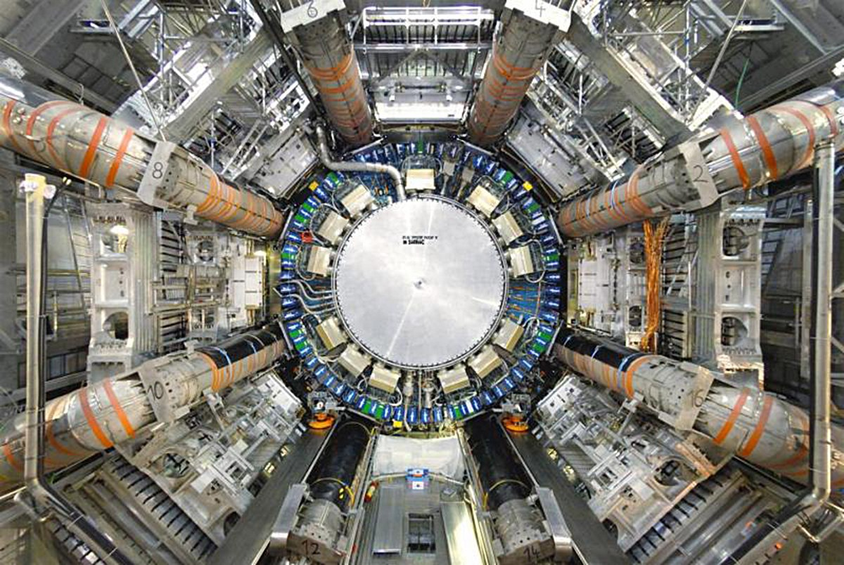 Large Hadron Collider, Switzerland. Image courtesy of wired.com.  The Large Hadron Collider is the world's largest and most powerful particle collider and the largest machine in the world.