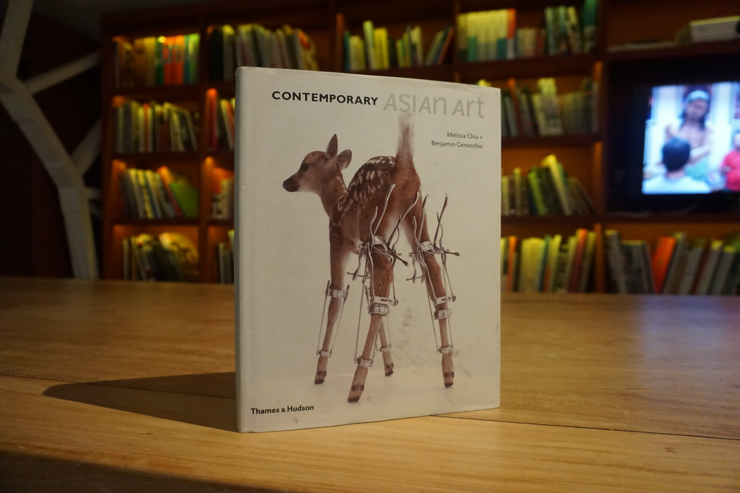 Contemporary Asian Art (Thames & Hudson Ltd., 2010) by Melissa Chiu and Benjamin Genocchio.