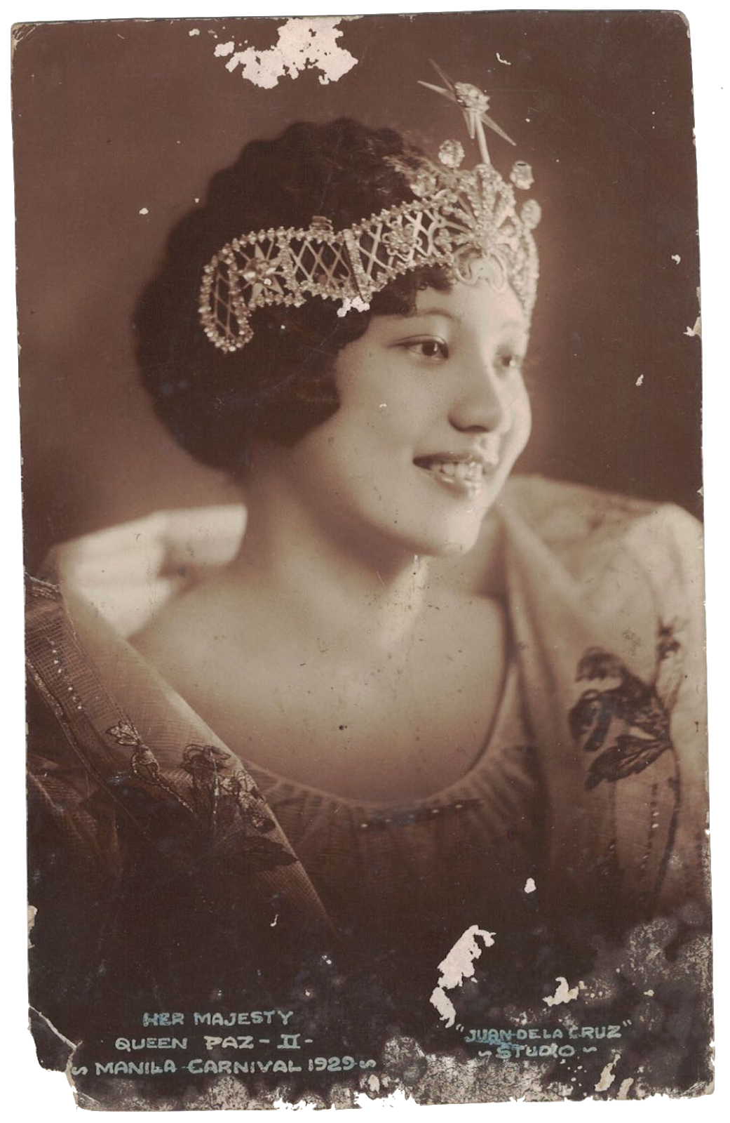 1929 Miss Philippines, Paz delos Reyes (3).png
