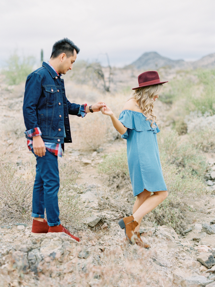 Phoenix Wedding Photographer and South Mountain Engagement -9.jpg