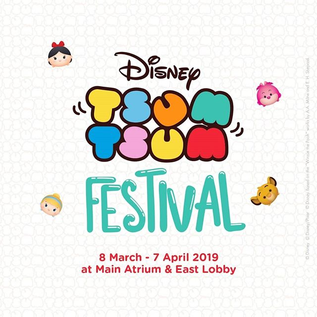 Let's play with Tsum-Tsum at Pik Avenue! Mark your calender 8-17 March 2019 at Main Atrium and 18 March - 7 April 2019 at East Lobby, GF! . . Snap your cure moment with Tsum Tsum big figures, play in all game booths and get a chance to win exclusive Tsum Tsum Mini Bolster exclusively for SedayuOne Members!* . See you there! . *T&C Apply #TsumTsum #Disney #Pikavenue #Cute #2019 #Event #FamiliaIndonesia