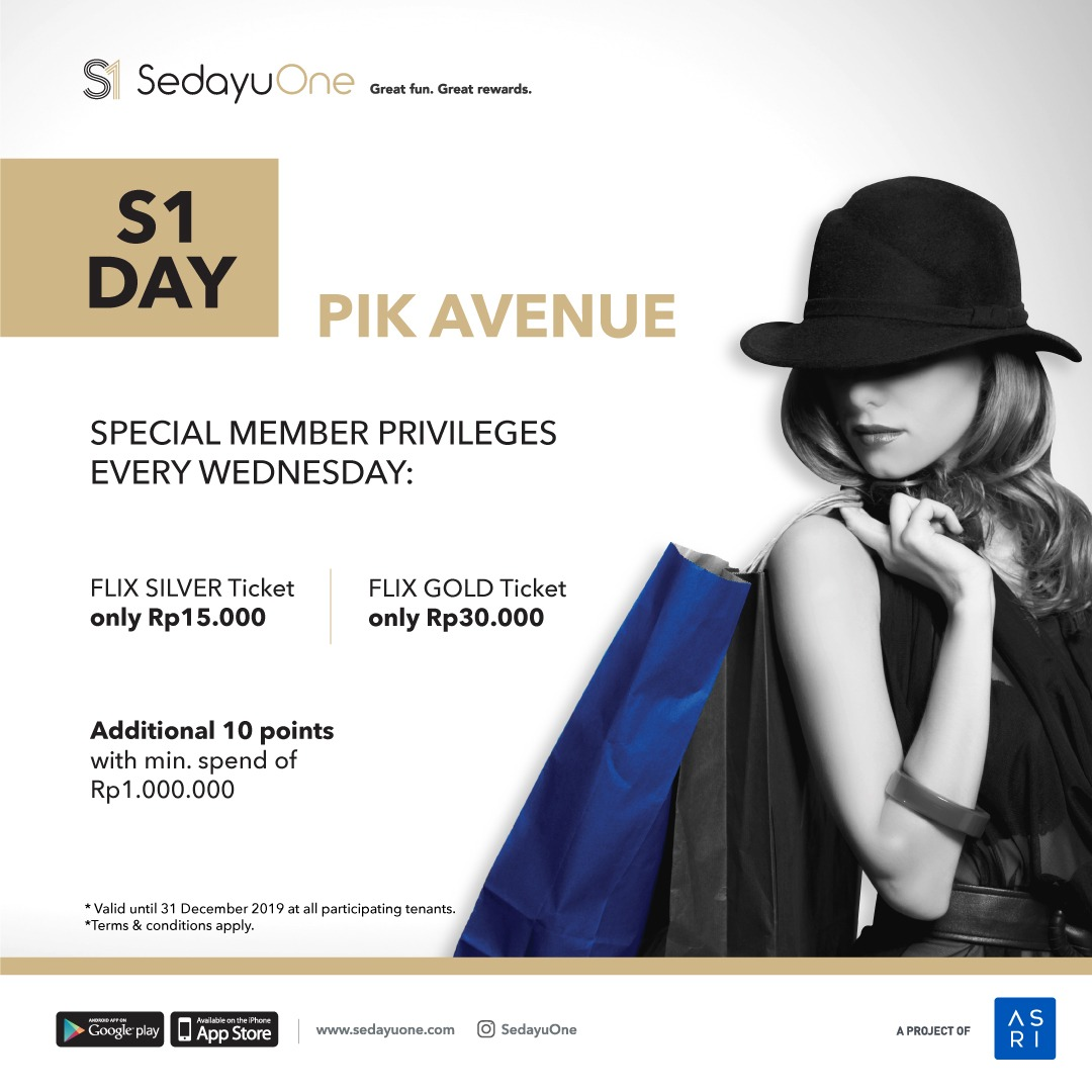 SedayuOne Day - Get Special Member Privileges every Wednesday