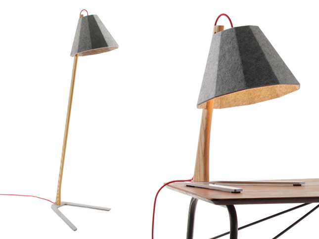 Frankie Table and Floor Lamp