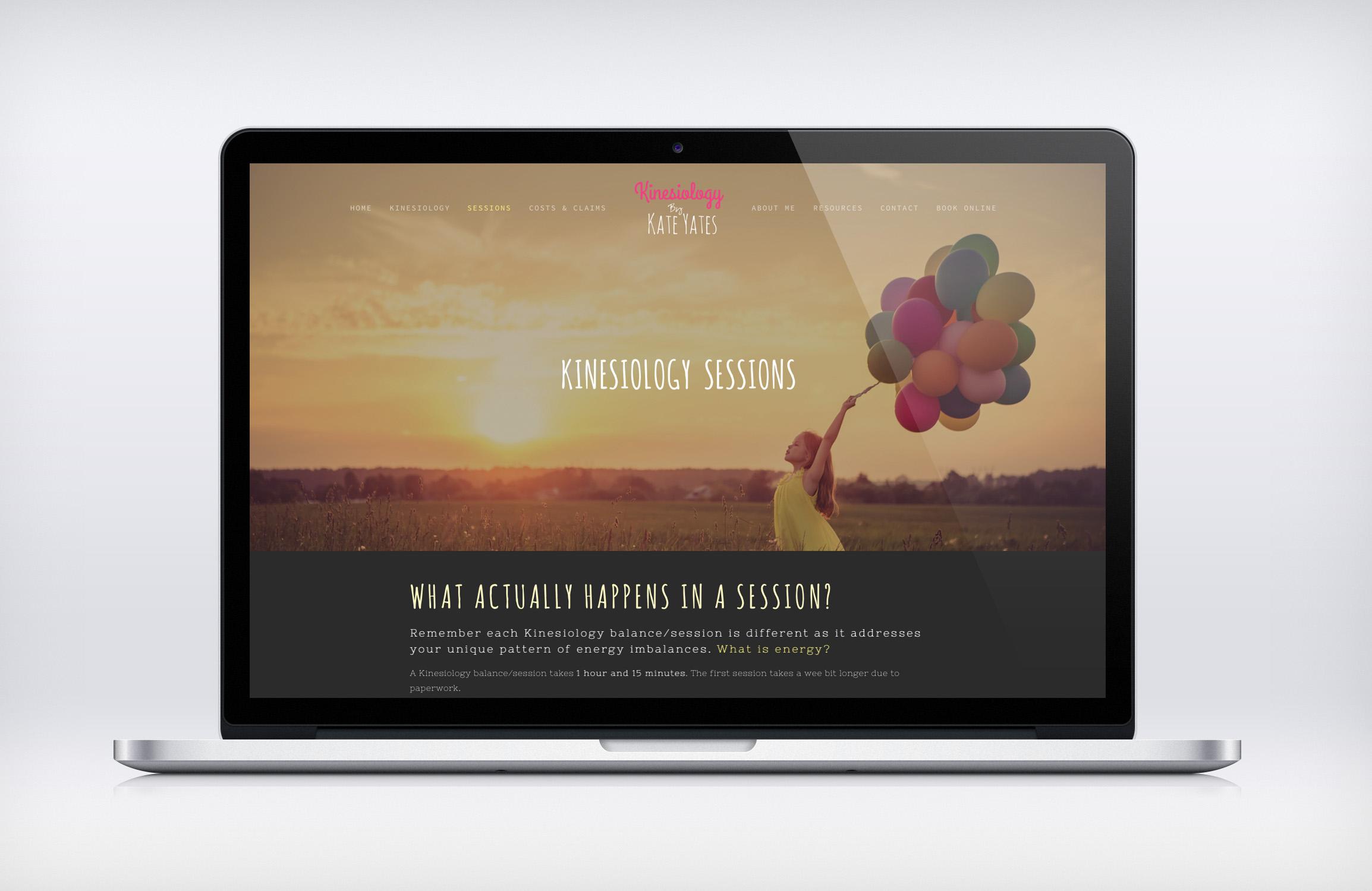 Web Design Melbourne_Kinesiology