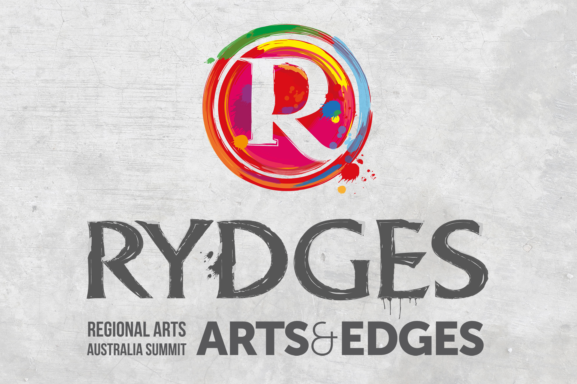 Logo for Arts and Edges event