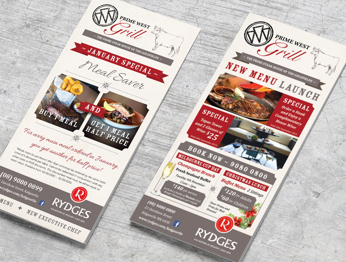 Restaurant marketing design