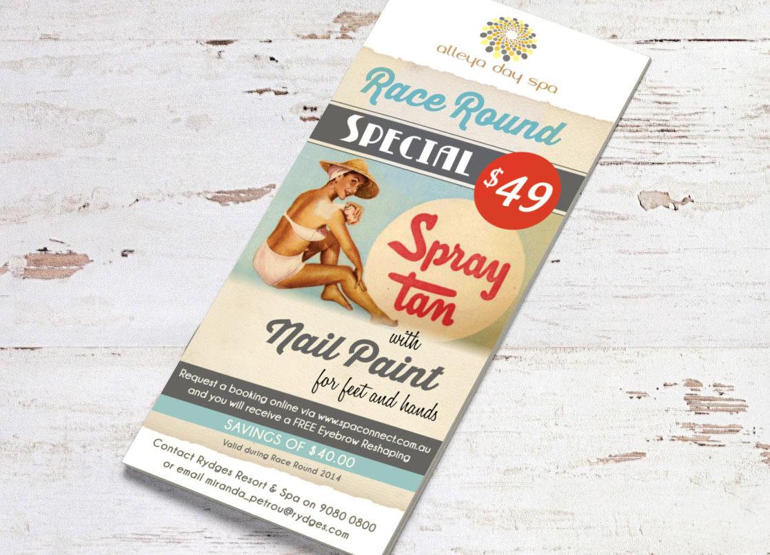 Graphic Design Melbourne flyer_Ki Creative