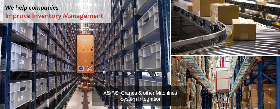 Inventory Management System | ASRS | Cranes | Conveyor Belts | Complex Machine Integrations | Gurusoft