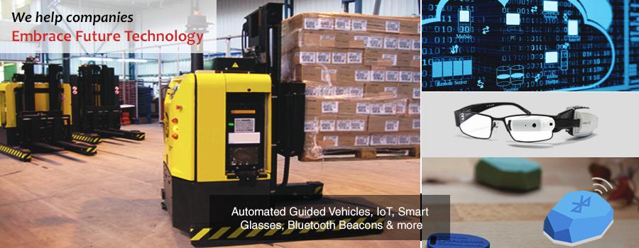 IoT | Automated Guided Vehicles (AGV) | Smart Glasses | Blockchain | Gurusoft