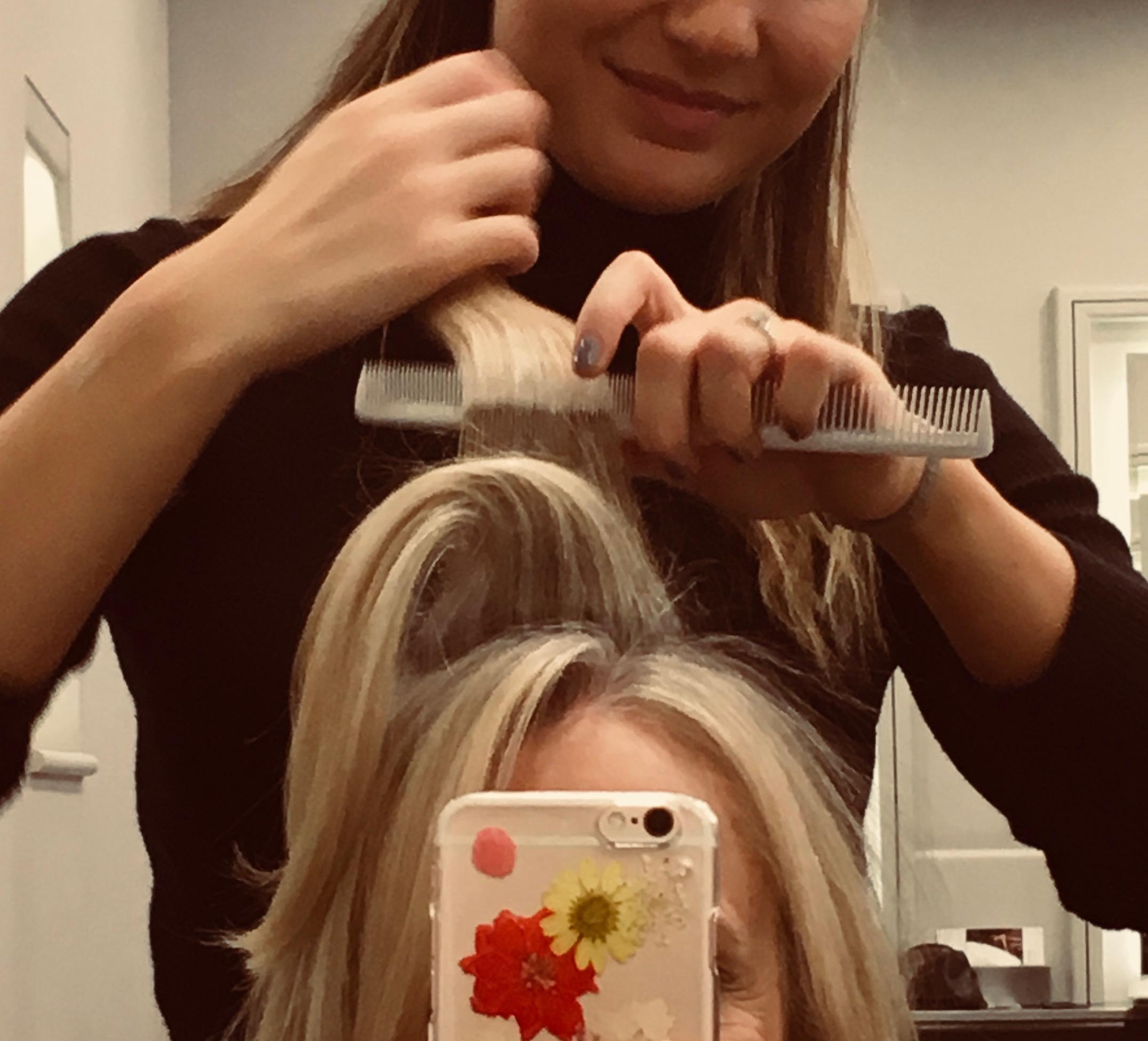 hair combing shot:Jo Hansford.jpg