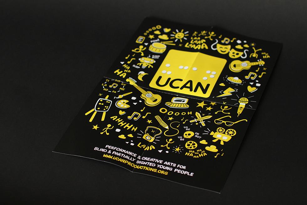 UCAN leaflet poster