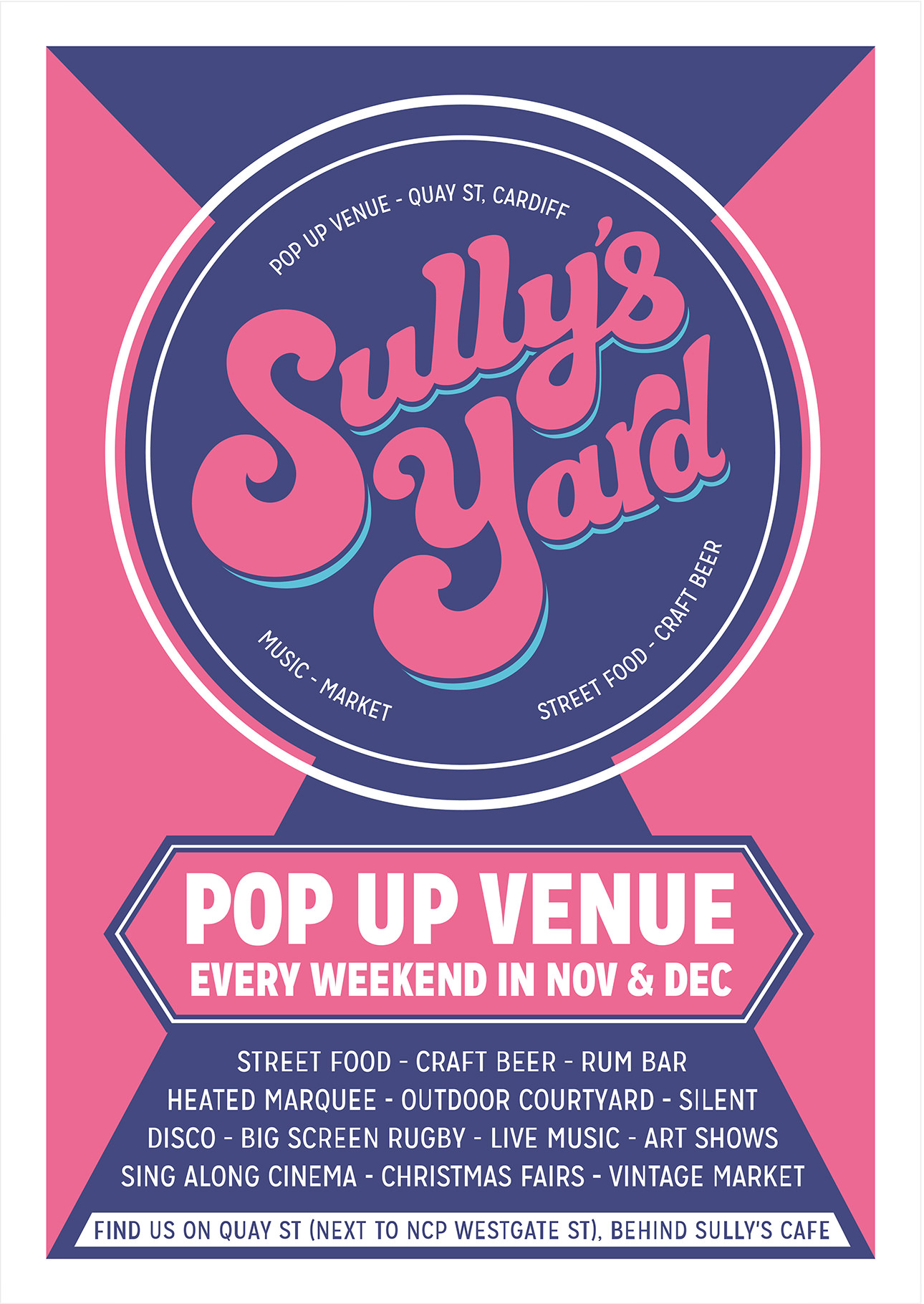 Sully's Yard Poster