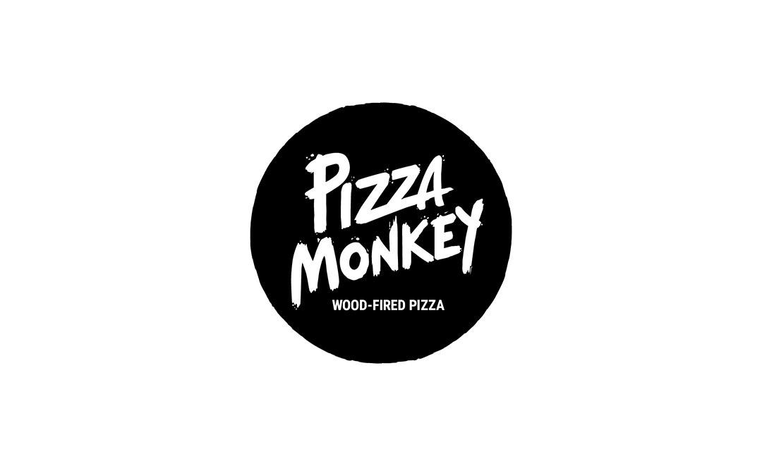 Pizza Monkey Badge logo