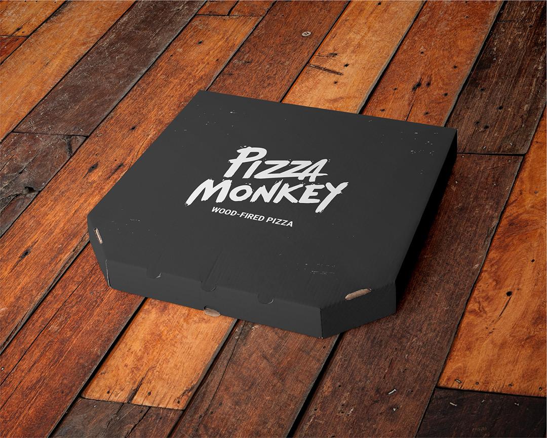 Pizza Monkey Pizza Box concept