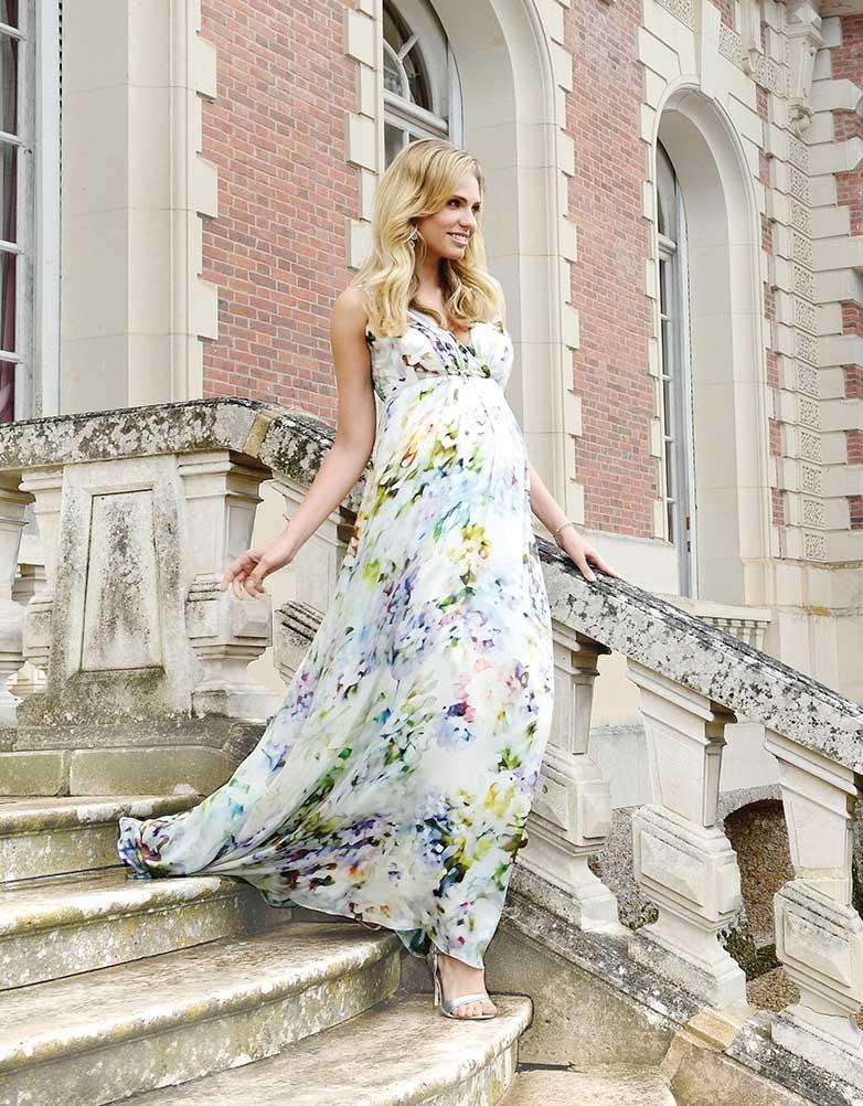 Lyxig klänning i silke från  Seraphine