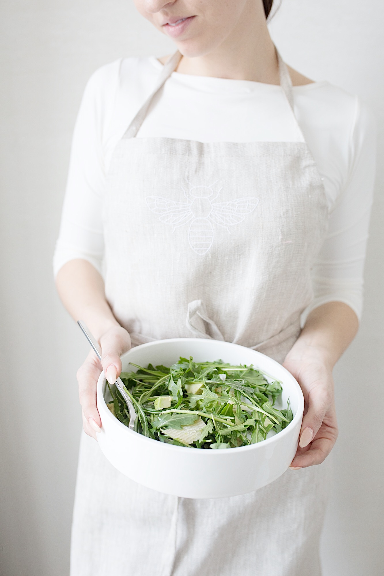 Nordic Honey_Arugula Salad with Avocado, Parmesan and Lime & Honey Dressing_Prep.jpg