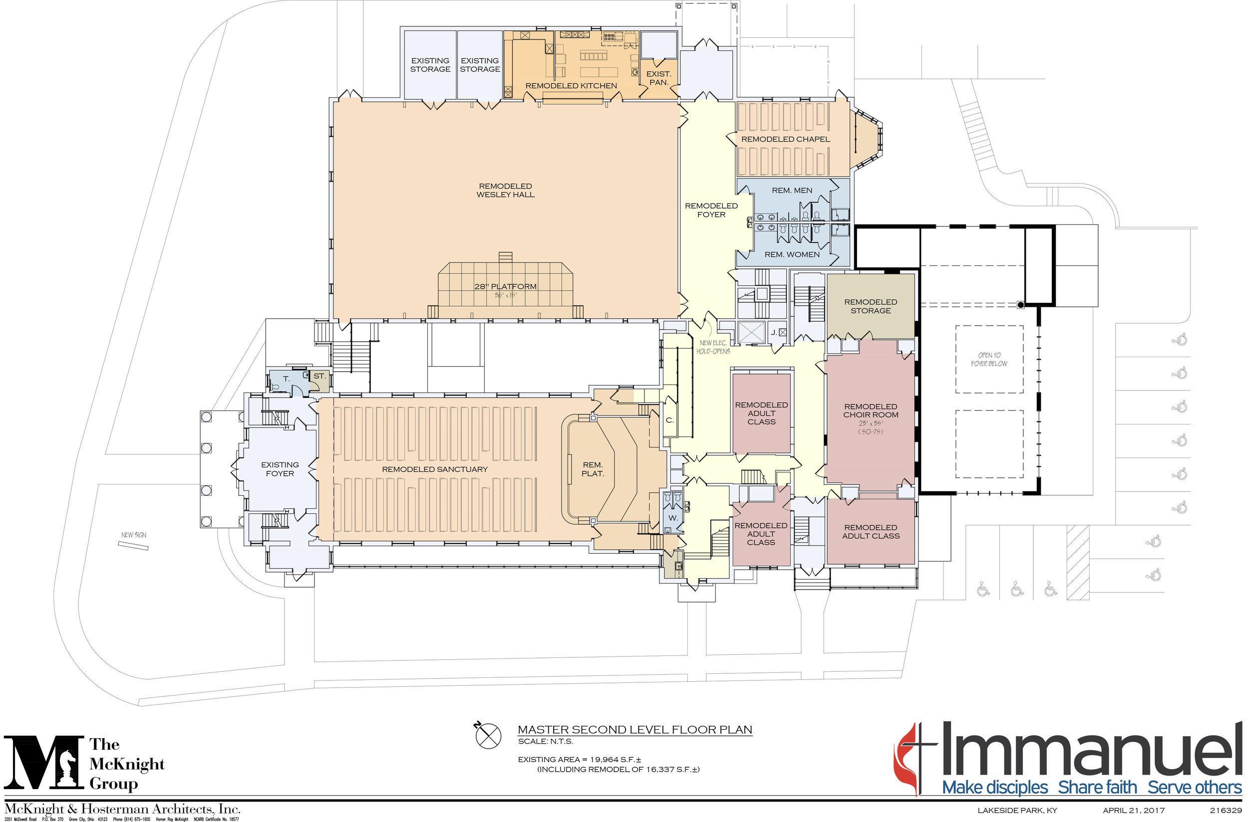 Proposed second floor renovations