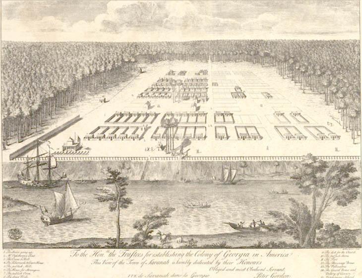 Map Of Georgia Plantations.History Grove Point Plantation