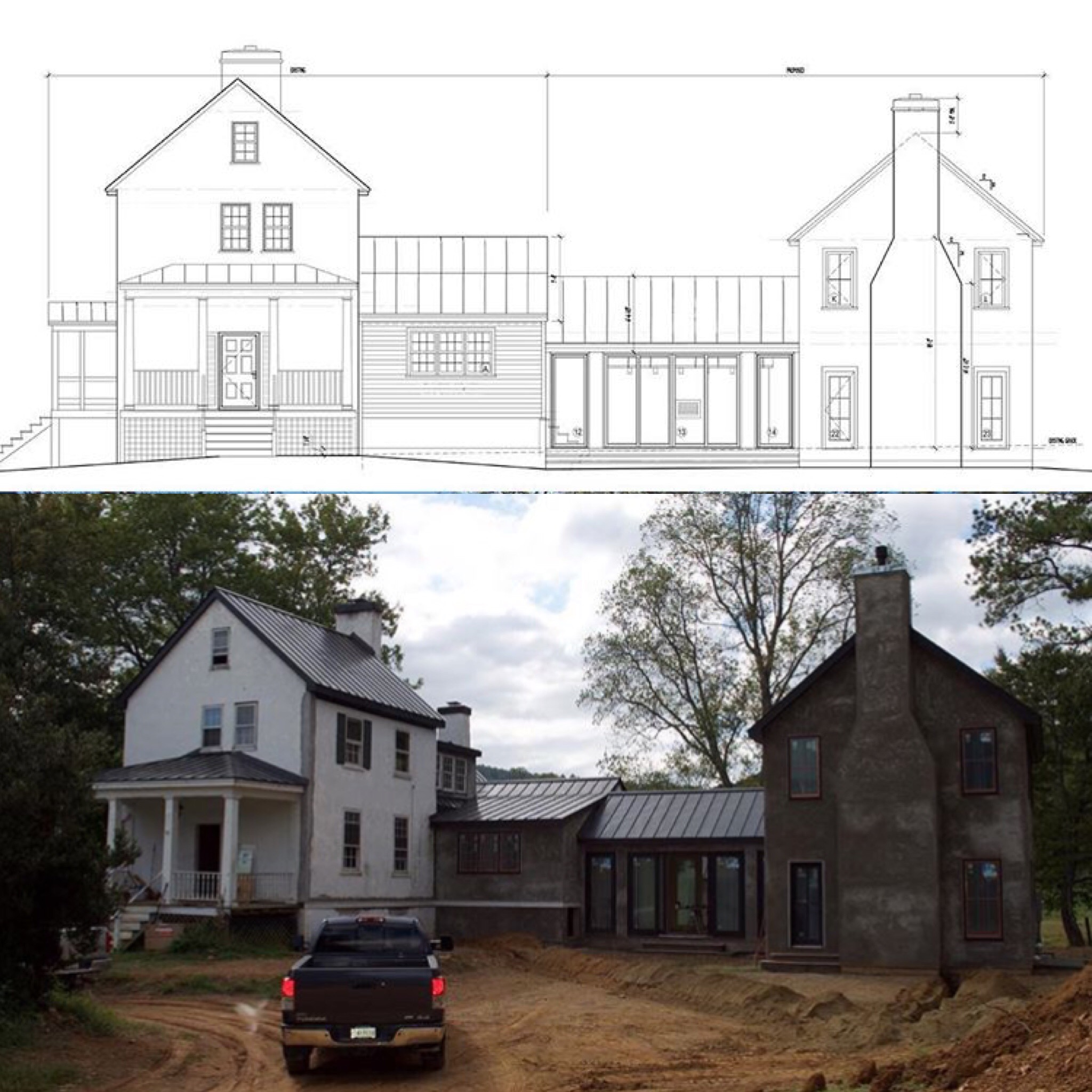Conception to Construction at Spring Valley Farm.