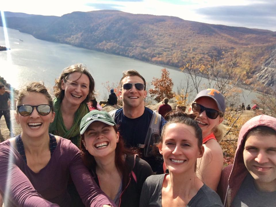 Seven of our athletes tackled Breakneck Ridge yesterday! What a great crew!