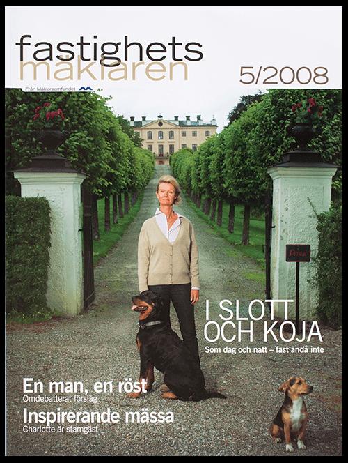 <strong>FASTIGHETSMÄKLAREN</strong><br>Real Estate member Magazine