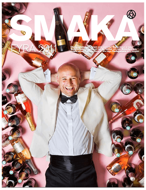 <strong>SMAKA</strong><br>Food and wine Magazine