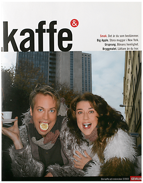 <strong>KAFFE&</strong><br>Coffee and Taste Magazine
