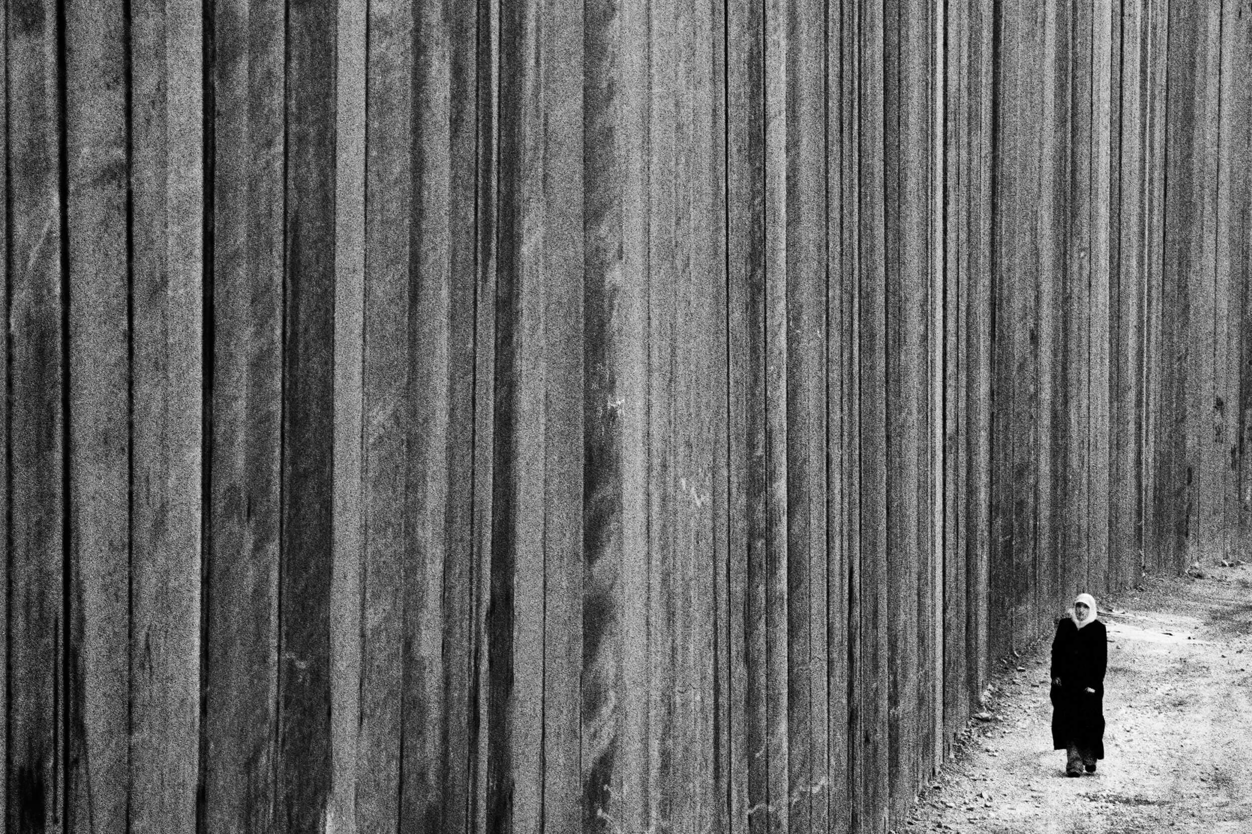 The Wall in Abu Dis, Westbank.