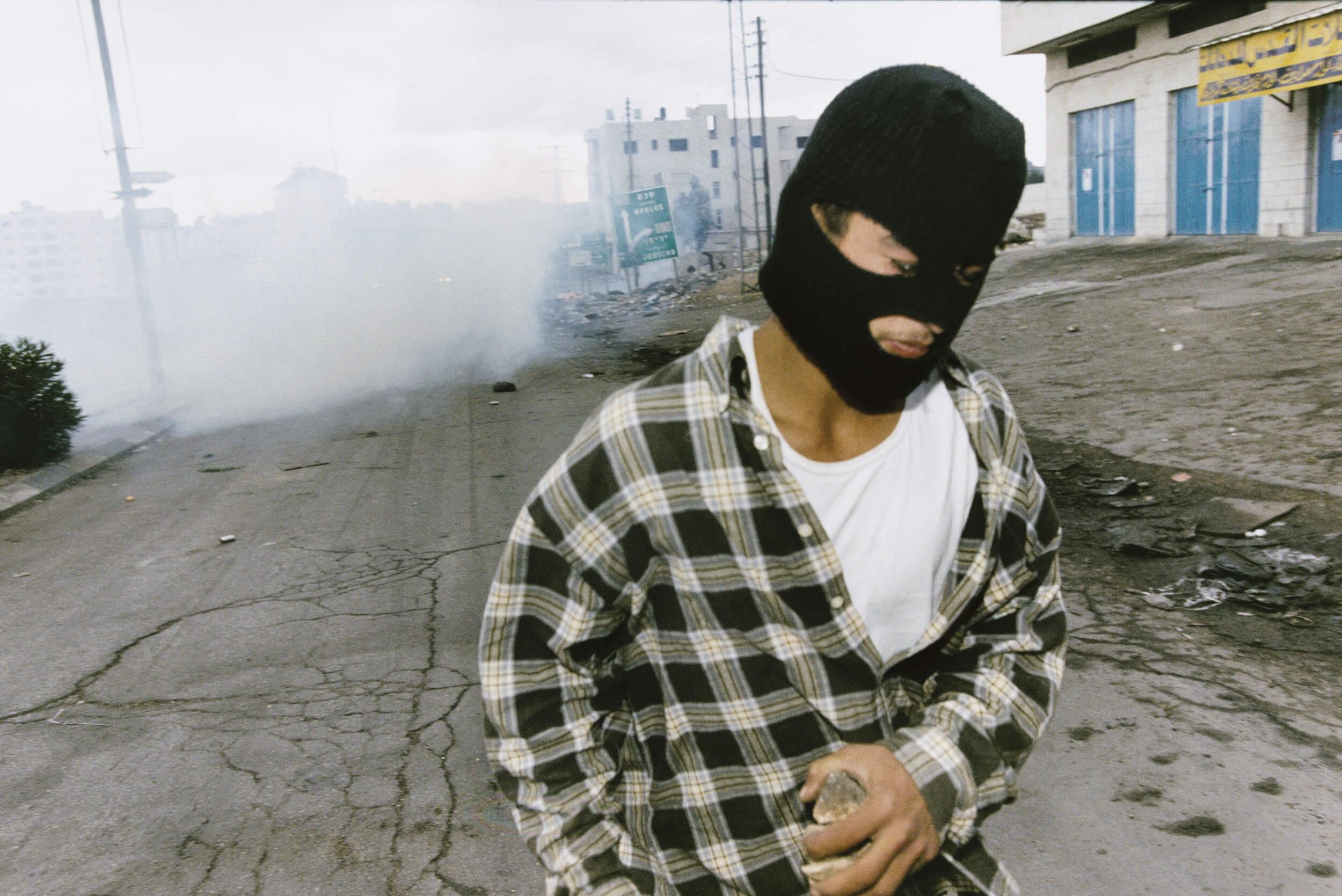 Ramallah. Second Intifada November 2000.