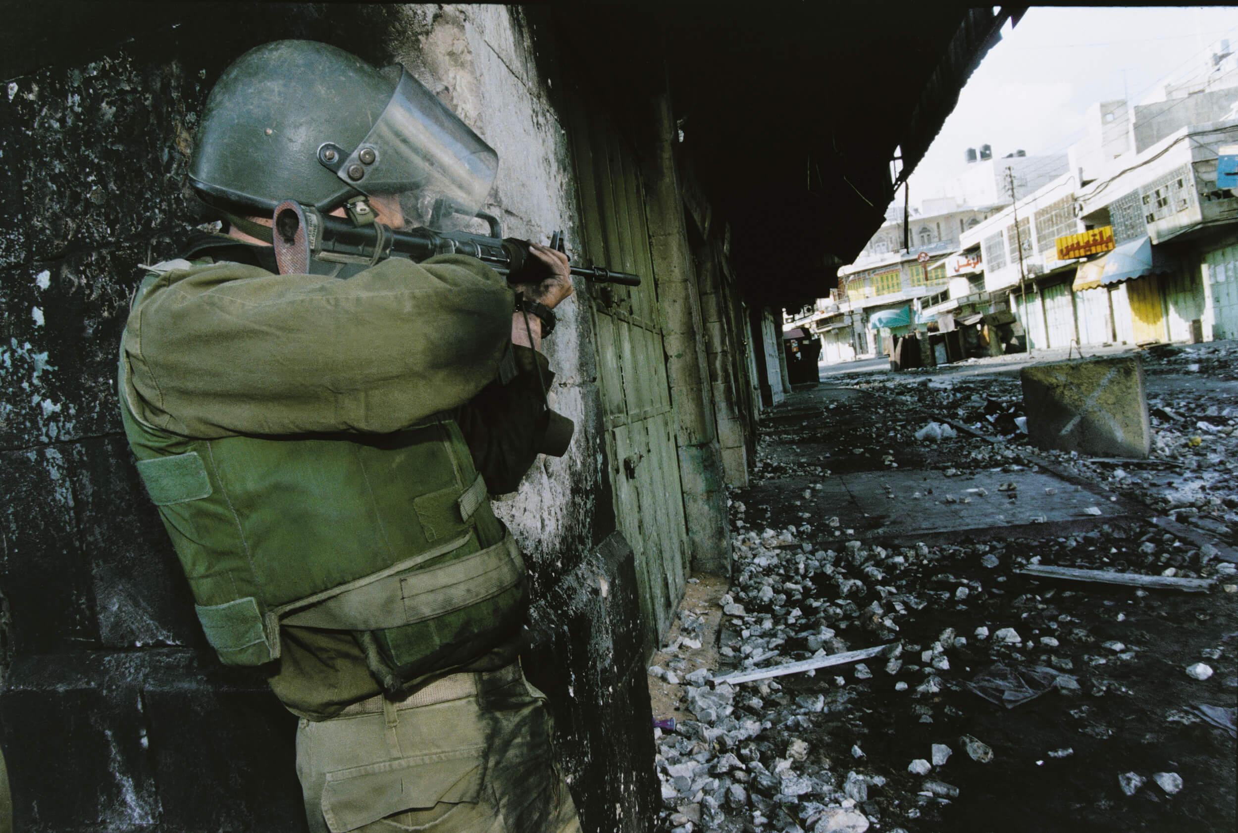 Hebron. Second Intifada.