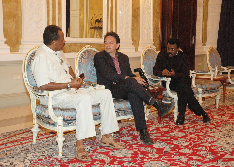 Donald Boström interviews the president of Eritrea, Isaias Afewerki.