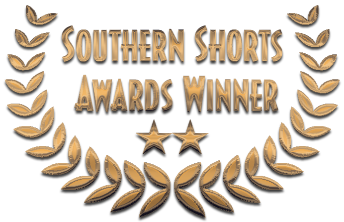 Southern Shorts Awards - Baggage proudly screened in Roswell, Georgia on July 15th at 6:00 PM as a featured short in the Southern Shorts Awards. It was nominated for Best Comedy, Best Actress (Allie Ficken) and Best Cinematographer (Sean Cruz). We are proud to announce Sean Cruz took home the award for Best Cinematographer out of over 100 films!
