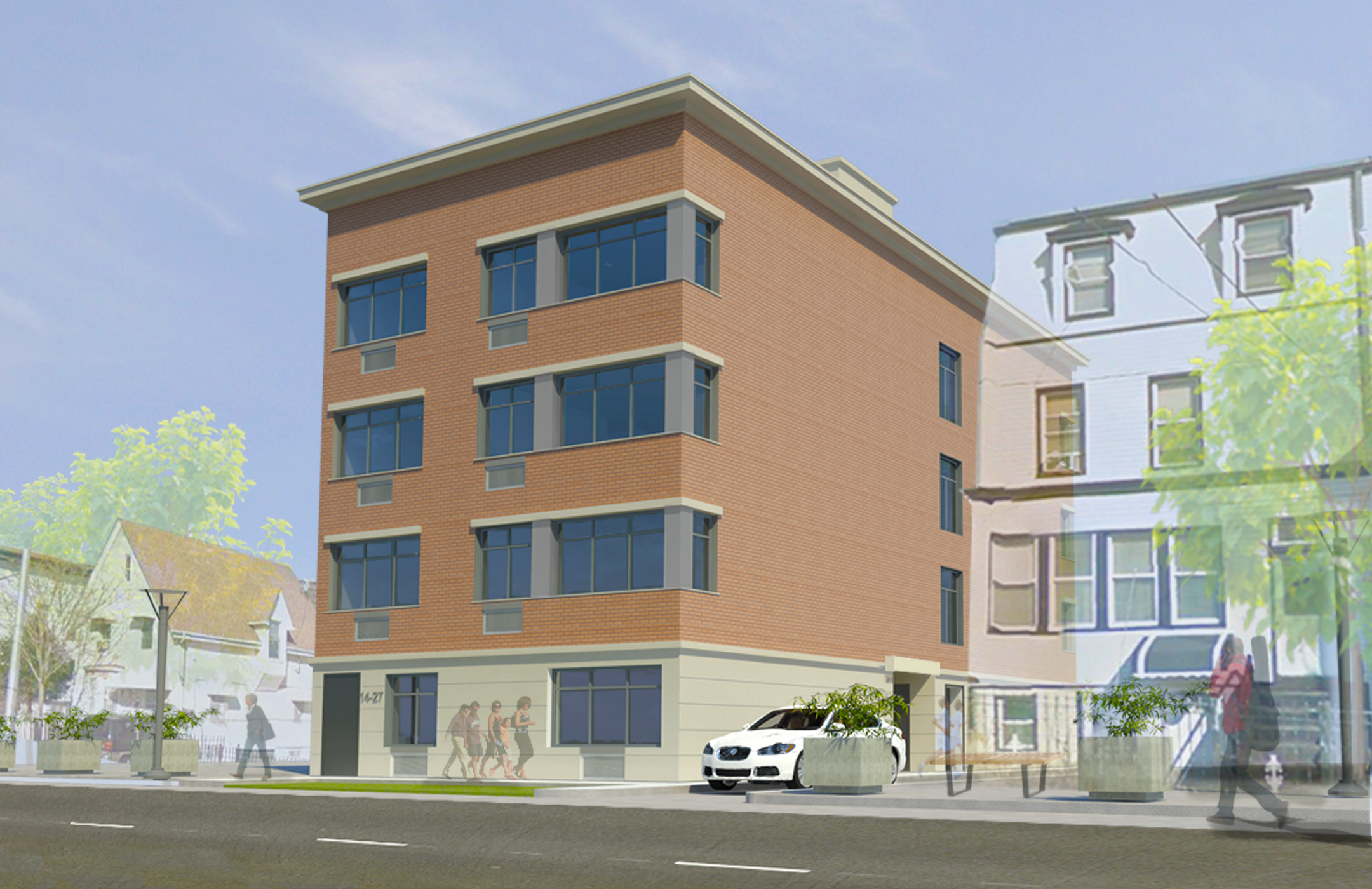 14-27 27th Ave / QNS - Ground up construction totaling 9,000sf and comprising of 8 units in Astoria, Queens.
