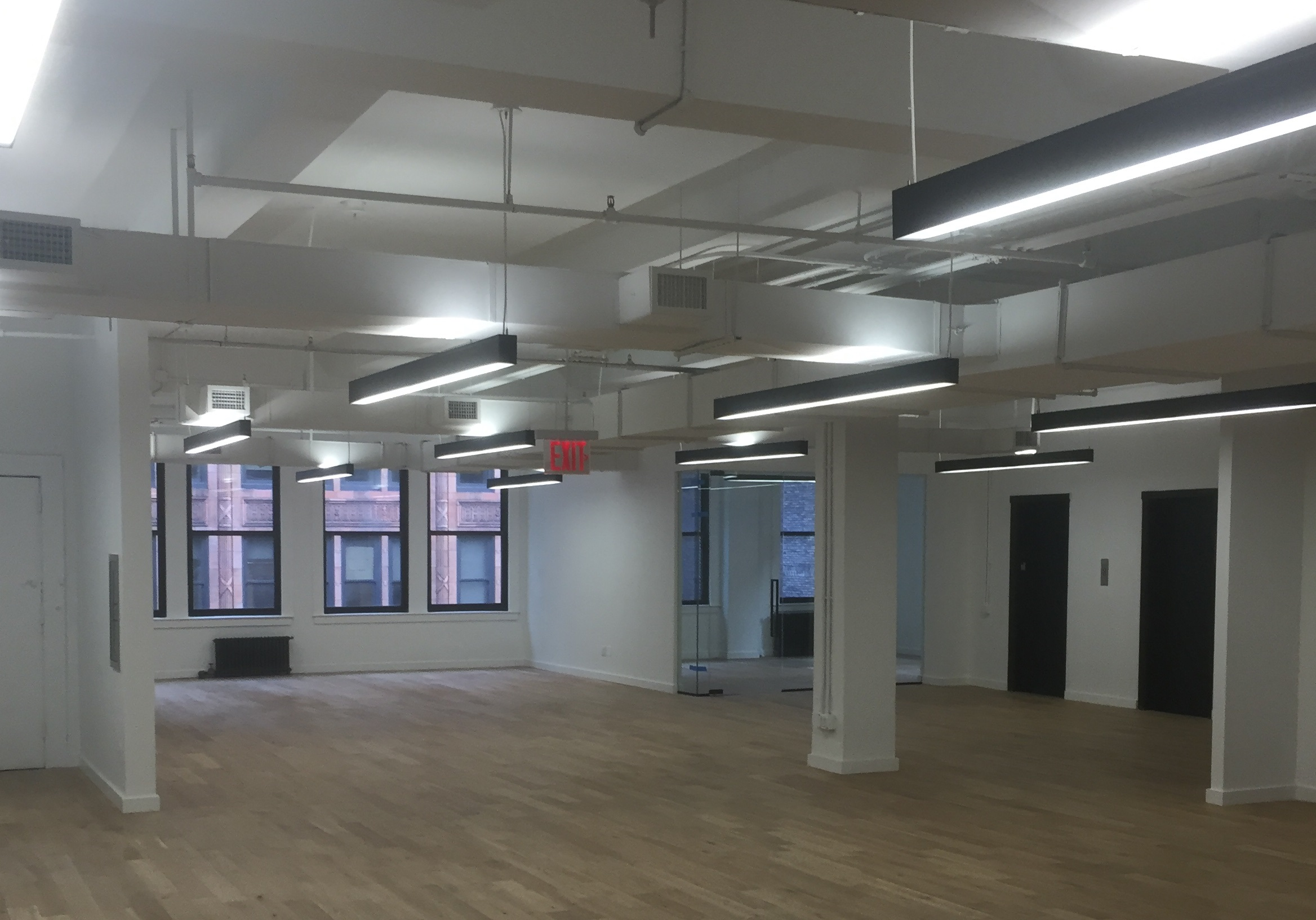 22 West 38th St / NYC - Carpentry services provided for office fitout