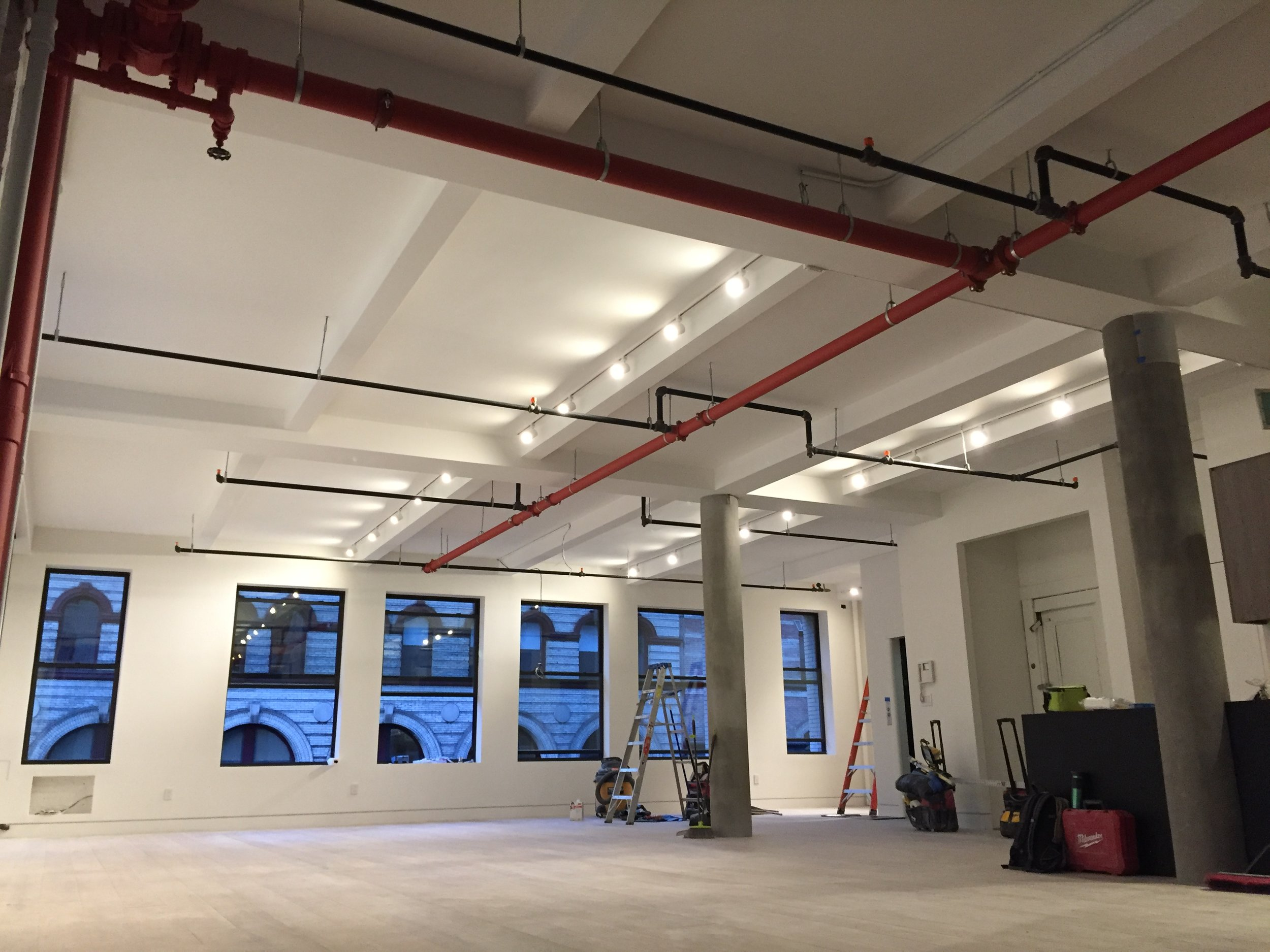 138 West 17th St / NYC  - Full gut renovation and fitout of high end loft
