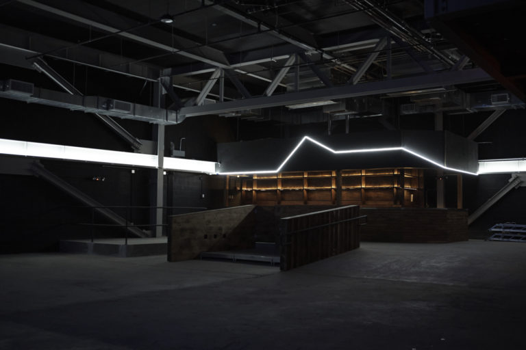 599 Johnson Ave / BK - Interior fitout of a 24,000 square-foot music venue and arts space opening in a converted Bushwick warehouse