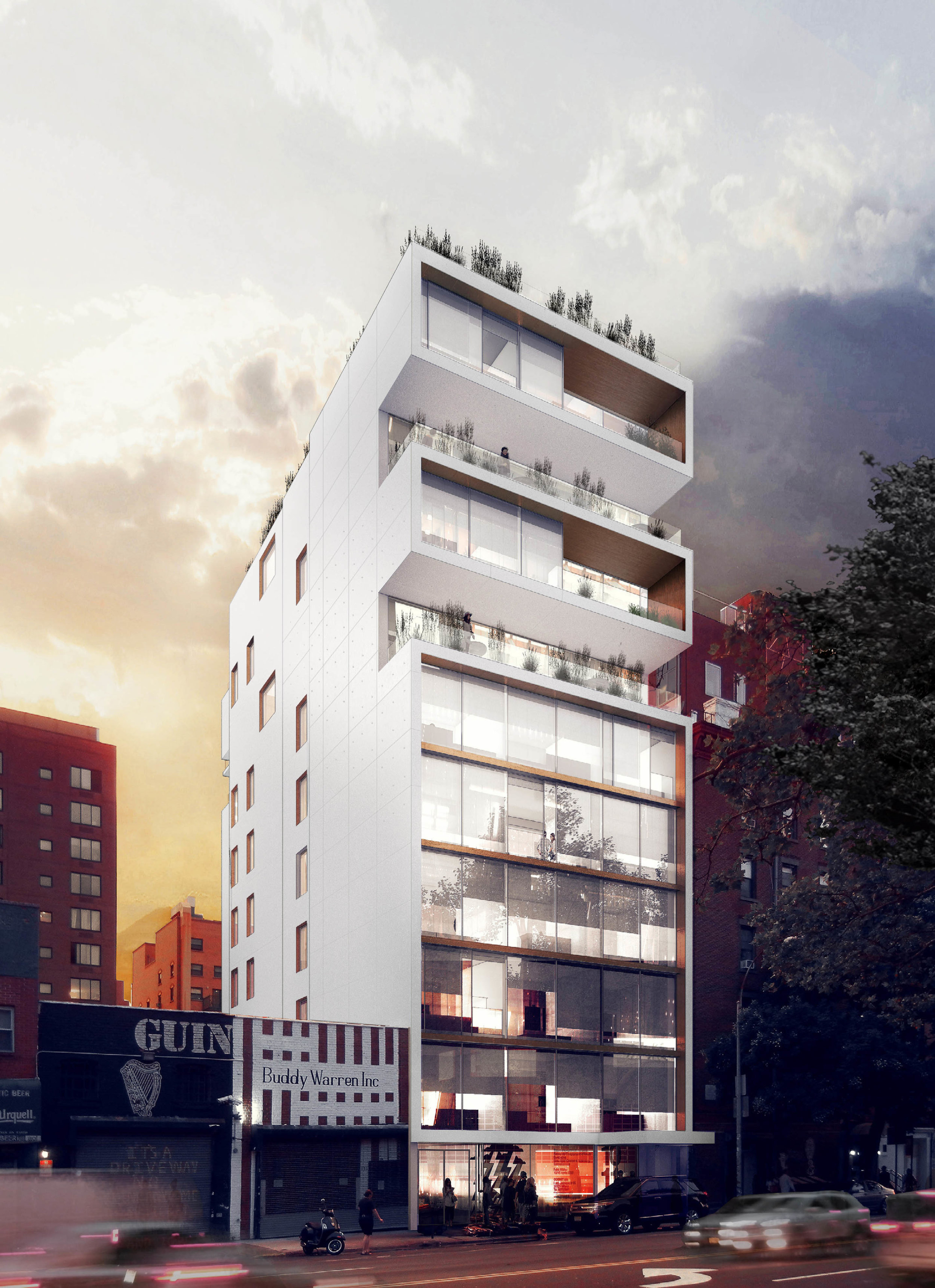 175 Chrystie Street / NYC - Ground up construction of luxury condominiums in Manhattan's Lower East Side