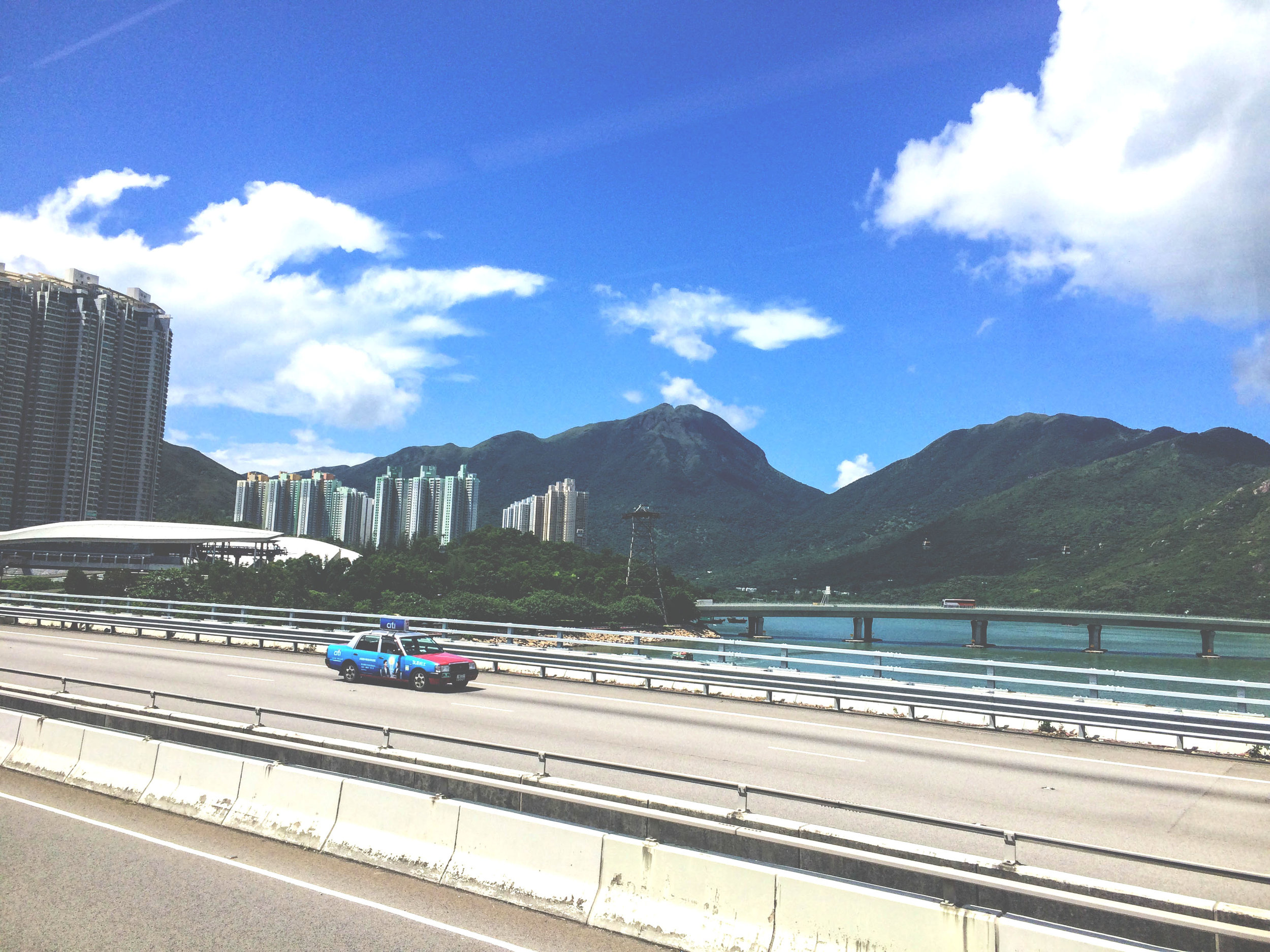 Definitely take the bus into Hong Kong from the airport. 1/3 the price + you get to actually see things!