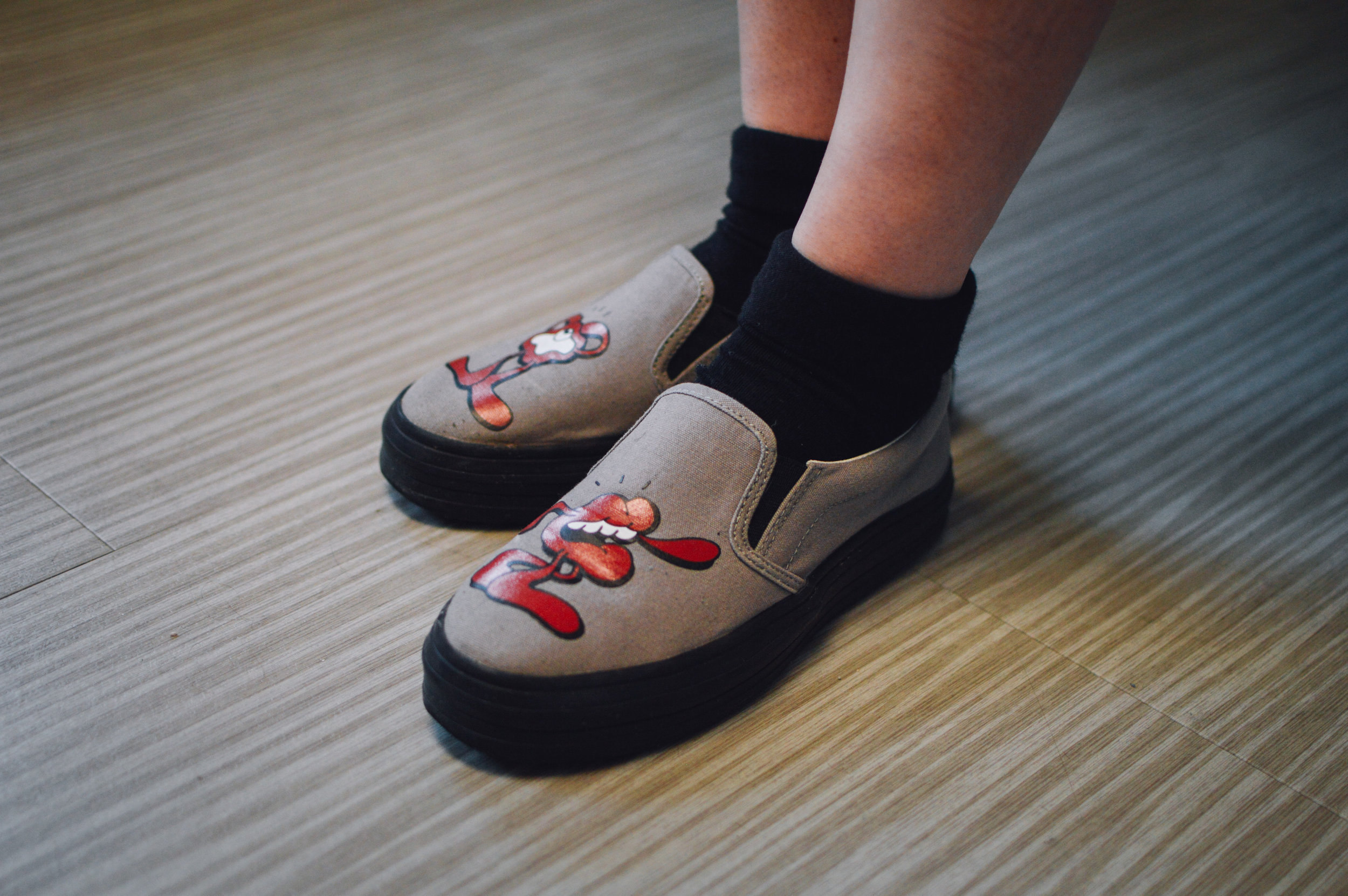 Shoes: YOSH X SWEAR